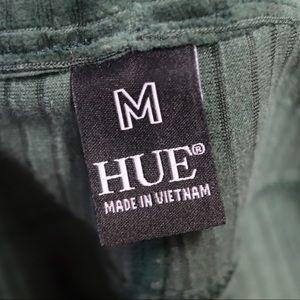 HUE Pants - Olive Green Stretch Skinny Pants